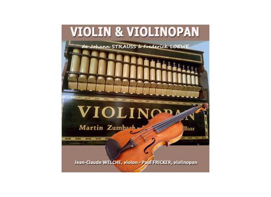 Offrez-vous le cd Violin & Violinopan !