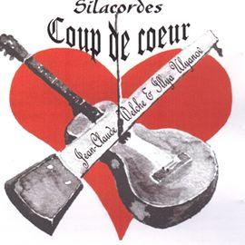 CD de scie musicale et guitare