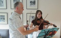 Cours de violon dans le pays de Gex