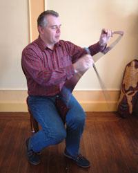 Comment jouer assis de la scie musicale